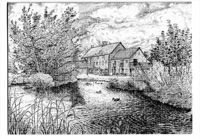 Hornsbury Mill, near Chard, Somerset